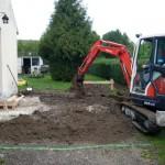 devis travaux de terrassement extension maison maçonnerie lyon et le Rhône-Alpes